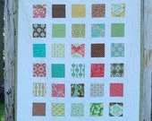 Botany Patchwork Baby Toddler Child Crib Quilt / Blanket - READY TO SHIP