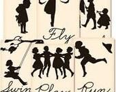 Jenni Bowlin Vintage Mini Deck - Silhouettes - Set 2