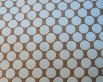 Amy Butler Lotus Full Moon Polka Dot Slate Fabric by the Yard