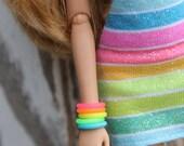 30 Rubber Bracelets