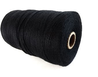 Black Twine Bamboo Cord 0.7mm - 10 meters / 32.8 ft