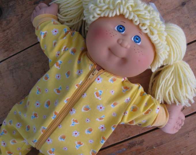 Featured listing image: DIY Doll Pajama Sewing Patterns and Tutorial PDF download
