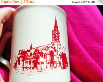 SALE Trinity Episcopal Church Coffee Mug, Centennial Celebration, One Hundred Years, Watertown, New York