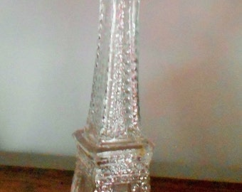 1 DAY SALE Vintage Eifel Tower Paris Bottle