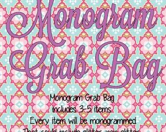 NEW **Monogram Grab Bag** Surprise Grab Bag of Goodies