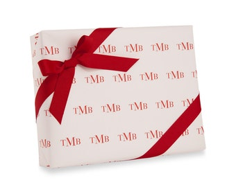 Gift Wrap, Wrapping Paper, Monogram, Holiday, Custom Gift Wrap, Baby Gift Wrap, Birthday Gift Wrap, Baby Shower, Personalized Gift Wrap