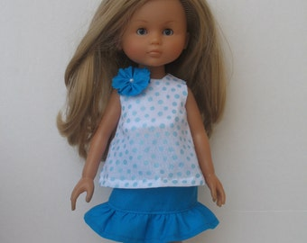 Corolle Les Cheries,Paola Reina Doll Top and Skirt