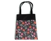 Handmade Fabric Sports Gift Bags - Basketball