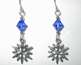 SNOWFLAKE BAY Snowflake Earrings