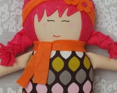 Dolls, Handmade Doll Rag Doll Soft Doll Baby Doll Felt Doll (Free Shipping In The U.S.)