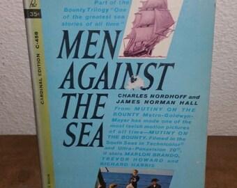 Men Against The Sea Vintage Paperback Book