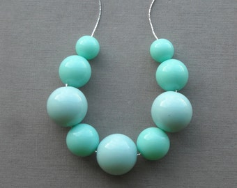 mint condition - necklace - remixed lucite