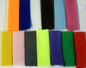 Wholesale  hook and loop 14 colors two sizes 1 inch or 3/4 inch