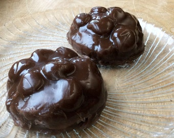 Candy Soap - Chocolate Marshmallow Cluster soap - Walking Dead - Goo Goo Cluster Style - Chocolate Soap - Candy - Fake Food - Novelty Soap