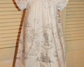 Color Me Peasant Dress with Markers