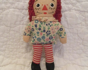 Vintage Raggedy Ann Small Doll SALE