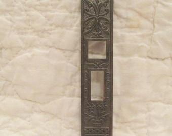 Vintage Eastlake Pocket Door Plate SALE