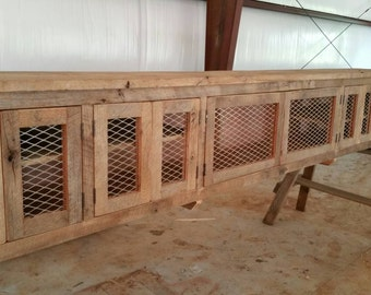 YOUR Custom Industrial and Rustic Barn Wood Entertainment Center with Free Shipping
