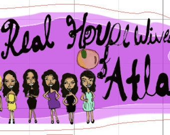 The Real Housewives of Atlanta stickers!