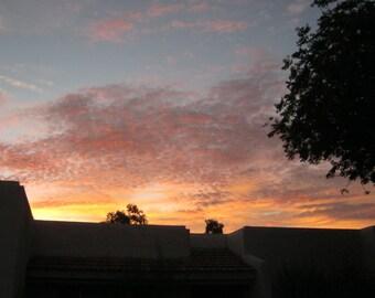 Arizona Sunset Digital Photograph