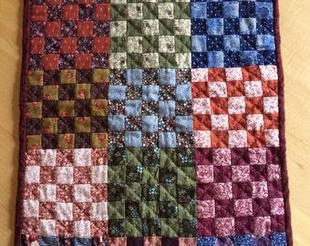Farmhouse Patchwork Table Quilt