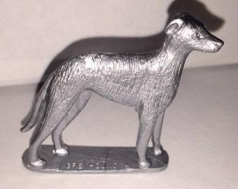 1950s Nabisco Cereal Prize Rubenstein Dog Figure Greyhound