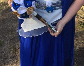 Doctor Who Sonic Screwdriver Bridal Bride Bouquet Geek Nerd **choose your colors ***