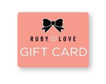 Gift Card - Ruby Love Baby