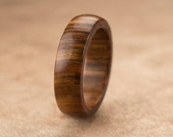 Size 6.5 - Guayacan Wood Ring No. 271