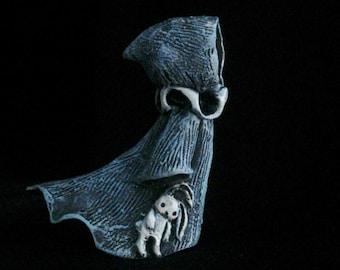 Bitty Blue Ghost - Lisa Snellings