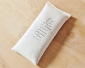 Lavender Eye Pillow, Numbers 6:24 Scripture Bible Verse, Headache Relief, Natural Migraine Relief