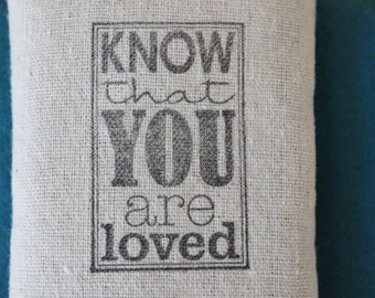 Know That You Are Loved Lavender Sachet, College Student Care Package, Gift from Dad, Daughter Birthday