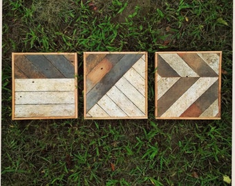 Reclaimed Wood Tryptic
