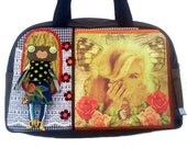 """Bag molly creative bag unique bag n56 """"Butterfly's Marilyn"""""""