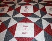 Quilting Divas Twin size quilt