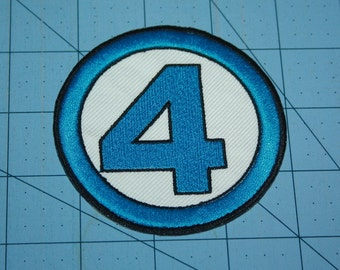 Fantastic 4 Iron on Patch