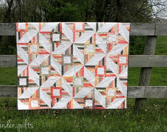 Persimmon PAPER Quilt Pattern #110~SALE~