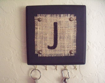 Key holder, wall hook, jewelry organizer, personalized key holder, gifts under 20 dollars.