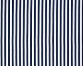 SALE Beauty Queen from Jennifer Paganelli Katie stripe in Midnight 1 yard