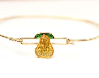 Pear Hook Bracelet
