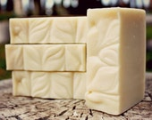 Tropical Bloom Soap. All Natural Perfumed Lotion Bar. Scented with Organic Essential Oils. 1 Bar