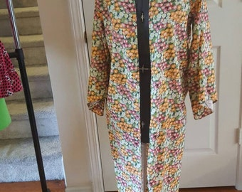 Pretty floral witch wizard robe 7/8