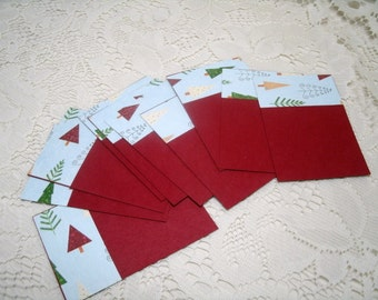 1/2 PRICED TAGS Set of 10 gift tags #110