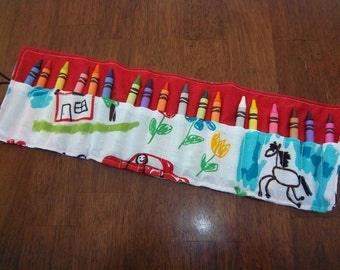 Crayon Roll