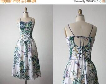 30% OFF SALE spring garden dress / backless party dress