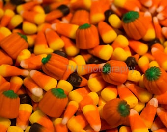 Candy Corn - Halloween - Halloween Treats - Candy - Colorful Candy - Sweet - Fine Art Photography