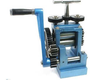 Rolling Mill For Metal Sheet And Wire Up To 5ga 3 Inch Rollers Free Shipping  SALE