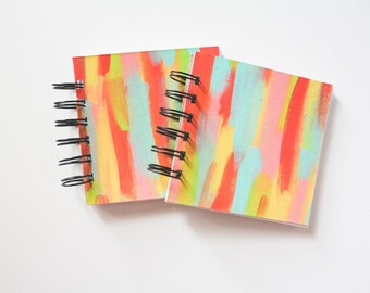 Blank 4 x 4 Mini Sketchbook - Bright & Merry