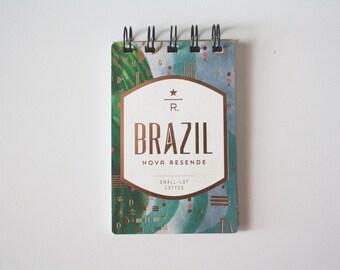 Starbucks Reserve Mini Journal - Brazil Nova Resende