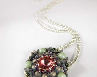 Pentamorous Pendant - Downloadable PDF Pattern/Tutorial